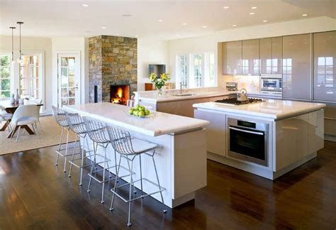 Modern Kitchens With Fireplaces by Modern Kitchen With Fireplace Psdab Hooked On Houses
