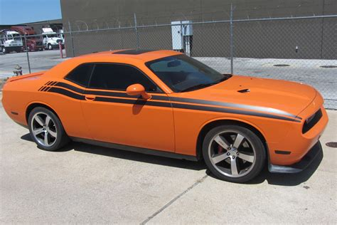 rt stripes for dodge challenger 2008 to 2015 dodge challenger rt style side stripes
