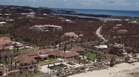 trump saint martin hurricane irma damage to trump estate revealed daily