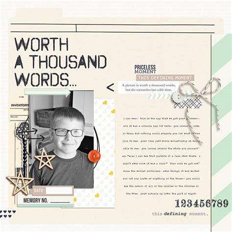 A Picture Is Worth A Thousand Words Essay by Worth A Thousand Words Paper By Sahlin Studio