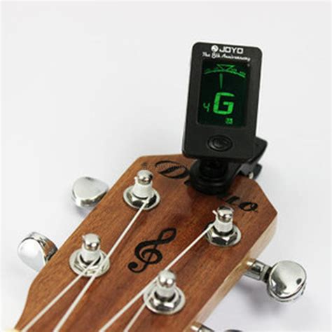 Tuner Gitar chromatic clip on digital tuner for acoustic electric guitar bass violin ukulele in guitar parts