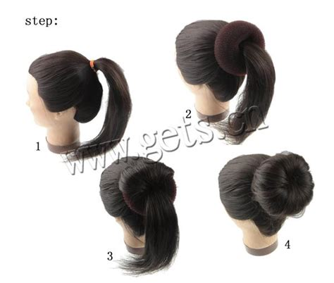 Hair Bun Maker Instructiins | instructions on bun maker for hair hairstylegalleries com
