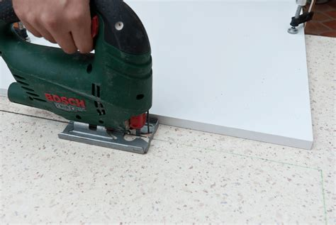 How To Cut Laminate Countertops jigsaw cutting techniques howtospecialist how to build