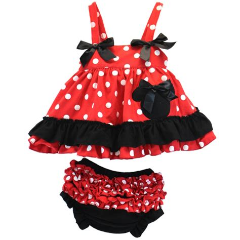 minnie mouse swing minnie swing top 2 pc set
