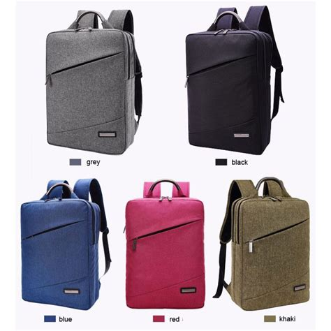 Tas Korean Style tas ransel laptop korean style fit to 15 6 inch gray