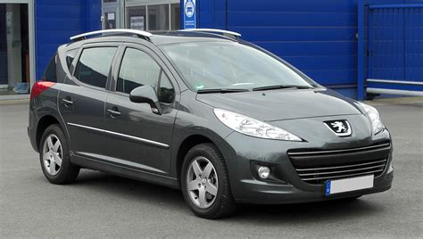 peugeot 207 year 2003 2012 peugeot 207 sw pictures information and specs