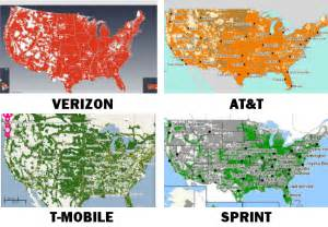 at t united states coverage map coverage compare verizon att sprint t mobile maps review