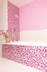 Pink Glitter Bathroom Accessories Pink Glitter Bathroom Contemporary Bathroom
