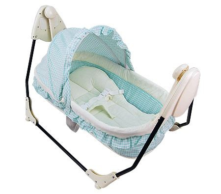 baby cradle electric swing electric baby swing cradle w carry bag mosquito net