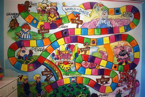 candyland wall mural poppie s sweet land nursery project nursery
