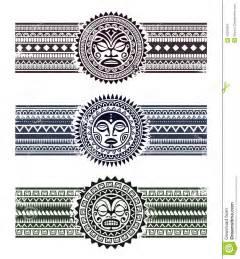 polynesian pattern bracelets stock image image 35287831