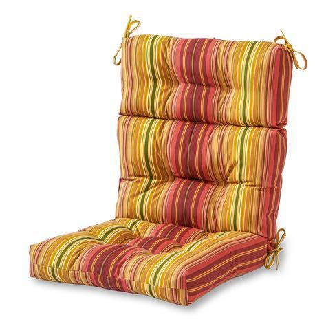 greendale home fashions indooroutdoor high  chair cushion kinnabari stripe  ebay