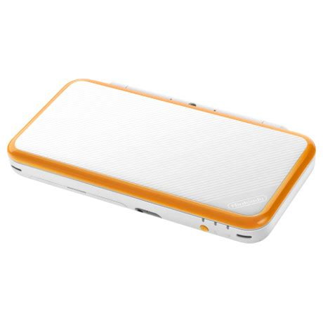 new nintendo 2ds xl white and orange | nintendo official