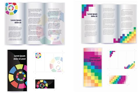 layout free vector download 30 free brochure vector design templates designmaz