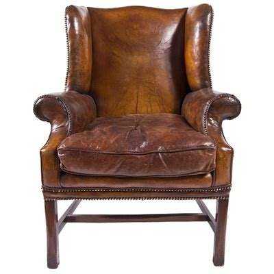 Worn Leather Armchair by Discover And Save Creative Ideas