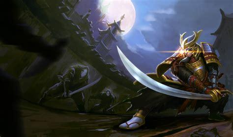 wallpaper video games league  legends ninjas dragon