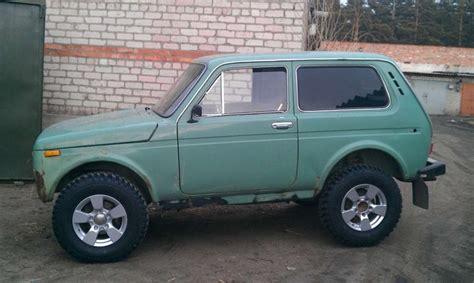 lada big 100 lada niva 4x4 big wheels russian cars