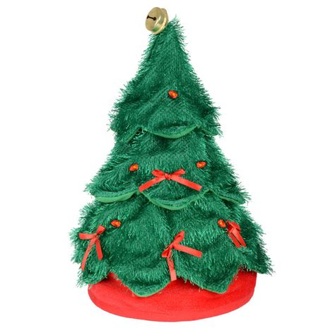 animated christmas tree hats animated musical moving rocking around the tree novelty hat
