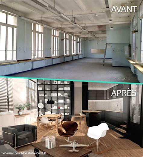 Decoration Maison Pas Chere by Avant Et Apr 232 S D 233 Co Loft