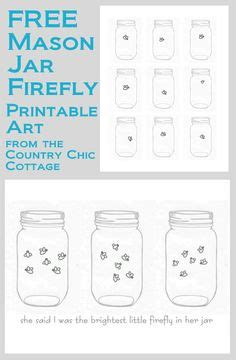 firefly story card template jar printable use to create fingerprint lightning