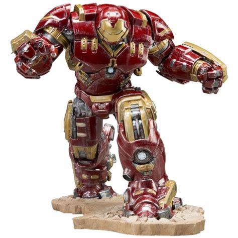 Original Kotobukiya Vs Hulkbuster Set kotobukiya marvel age of ultron iron hulkbuster artfx statue merchandise zavvi