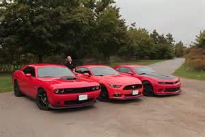 Chevrolet Camaro Vs Dodge Challenger Camaro Vs Challenger Vs Mustang 2015 Autos Post