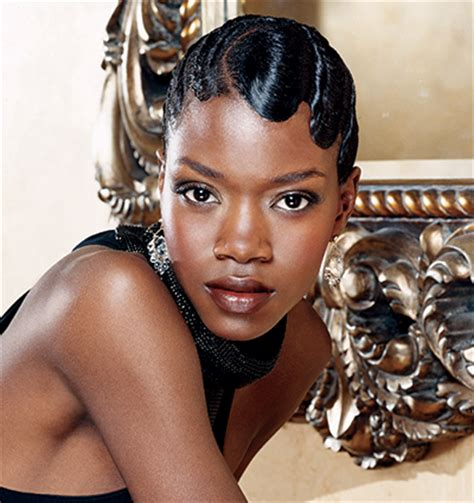 Black Hair Finger Waves Hairstyles by Finger Wave Hairstyles Beautiful Hairstyles