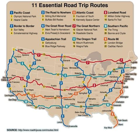 road trip planner map usa planning the gart great american road trip pt 1