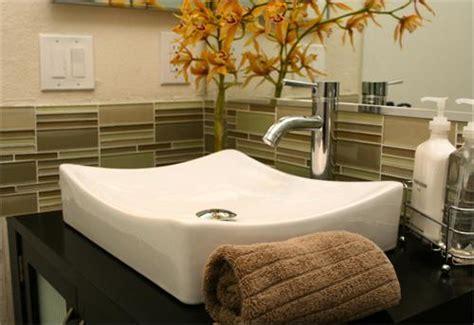 bathroom sink tile backsplash white glass bathroom backsplash design ideas