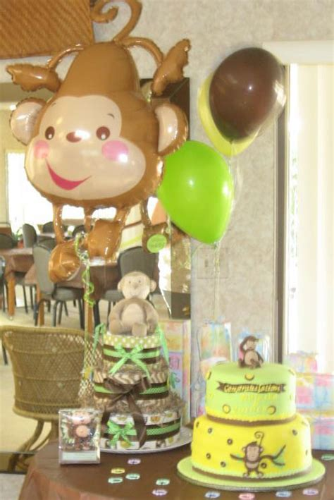 Monkey Baby Shower Theme by Host A Monkey Theme Baby Shower Without Going Bananas