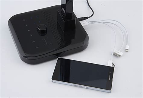 Bluetooth Desk Speakers by Phone Charging Bluetooth Speaker Desk L Sharper Image