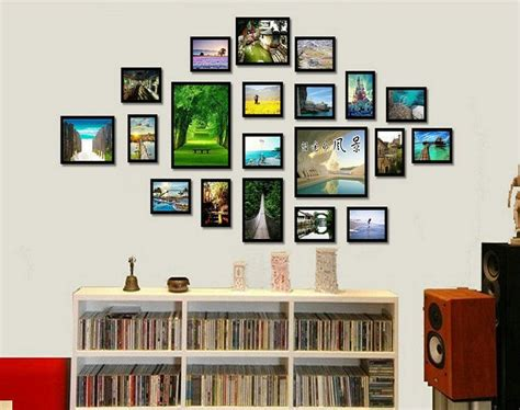 design photo wall picture frame collage ideas for wall