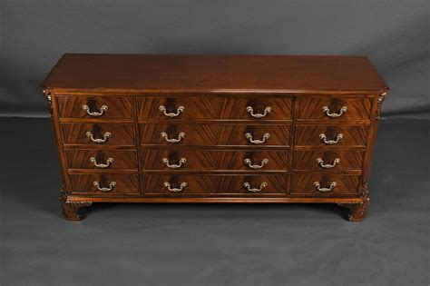 Mahogany Dresser by Mahogany Dresser With Carved Details