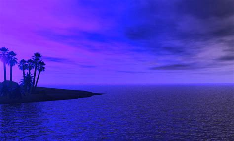 fondo pantalla bonita noche mar fondo pantalla mar noche