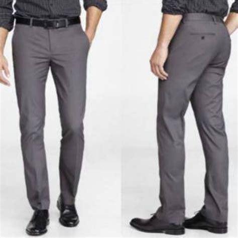 Celana Formal Bahan Reguler Fit Size 27 33 jual pakaian murah celana bahan kantor formal model