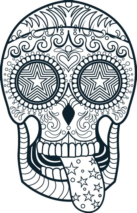 free coloring pages of sugar skull pony
