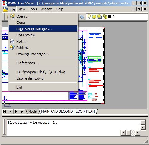 dwg trueview layout not initialized autocad model space black and white model