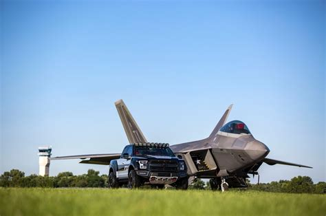 F150 Fighter Jet by This One Of A F 150 Raptor Is Inspired Byf 22 Fighter Jet