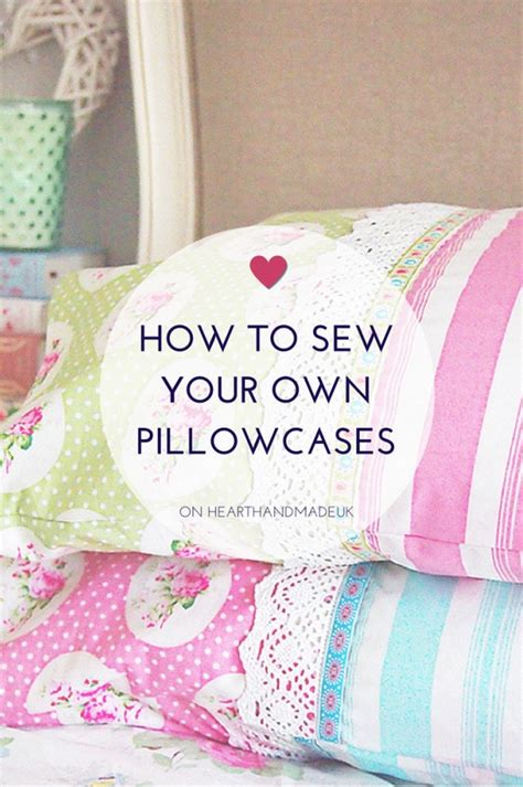 How To Sew A Pillow by How To Sew A Pillowcase