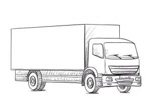 truck sketch delivery poster illustrations creative