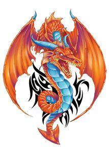 tattoo dragon orange 17 best images about dragon tattoos on pinterest dragon