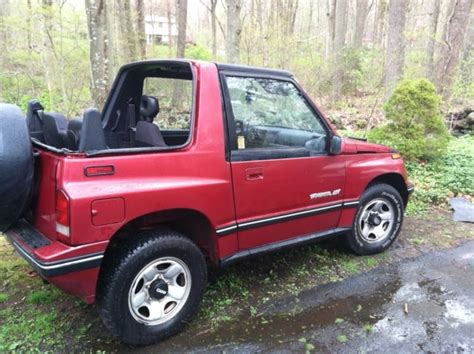 1992 geo tracker convertible for sale photos technical specifications description