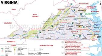 map of west virginia and carolina map of virginia travel map travelquaz