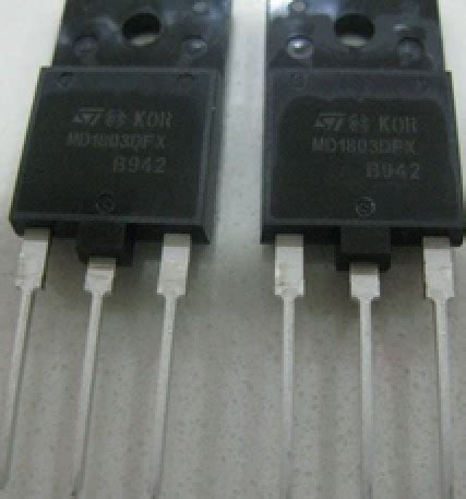 transistor horizontal md 1803 free delivery imported original legged measure transistor md1803dfx in integrated
