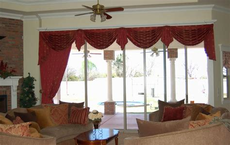 living room window valances curtains with valance for living room window treatments