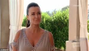 carlton gebbia looks old kyle richards feels alienated by her real housewives of