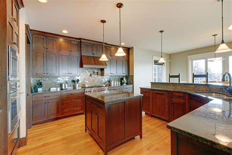 oak kitchen cabinets key features oak light river 46 kitchens with dark cabinets black kitchen pictures
