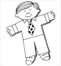 flat stanley template 8 free pdf download sample