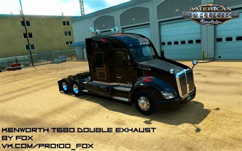 kenworth engine parts kenworth t680 double exhaust sp mp v1 0 v1 6 х