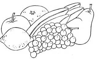 Galerry coloring pictures of fruit salad